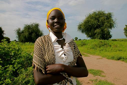 Nyaluak, 14, South Sudan