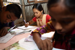 UNIQLO visits Education Equity for 'Out-of-School-Children' programme at Savar- Bangladesh 2016