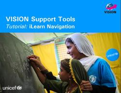 VISION Support Tools