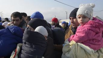 NYHQ -  Refugee crisis: More women and children