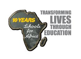 Schools for Africa 10th anniversary logo