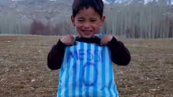 Afghanistan - Messi T-shirt