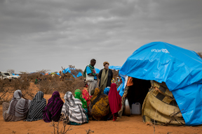 Donors visit Horn of Africa drought affected areas in Ethiopia