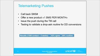 Webinar SMS recurring asks Sept 2014