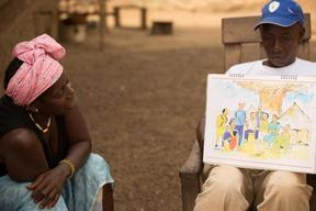 Support for Ebola-affected people in Guinea – 2015