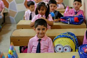 Back to School for Displaced and Host Community Children - Iraq - 2015