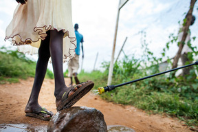 Support for families inside the Protection of Civilian site in Juba #2 - South Sudan - 2016