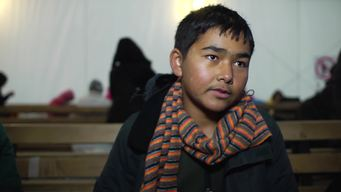 13053 Afghan refugee youth INTERVIEW BROLL HD PAL