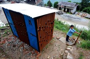 Where there is no school - A model temporary learning centre brings students back