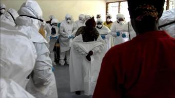12466 Sierra Leone Ebola Community Care Centers BROLL SELECT 2 HD NTSC