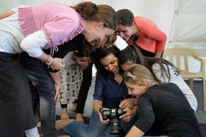 Empowering Displaced Girls and Women Through Photography - Iraq - 2015