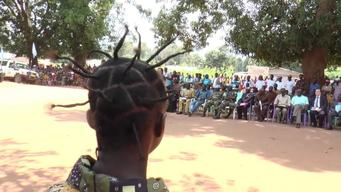 12903 CAR  Release of children from armed groups SELECT BROLL HD PAL