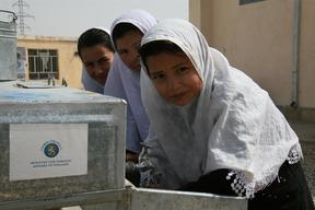 Finland funds for WASH in schools - Afghanistan 2011