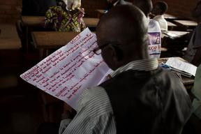 Teacher training in Bangui for post-conflict classrooms - Central African Republic - 2014