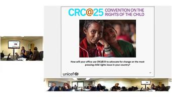 6 May 2014 - Webinar on updates on CRC@25, Team UNICEF and #ENDViolence