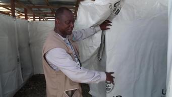 12446 Liberia Ebola treatment unit INT HD NTSC