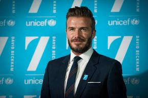 Photos from the launch of 7: The David Beckham UNICEF Fund