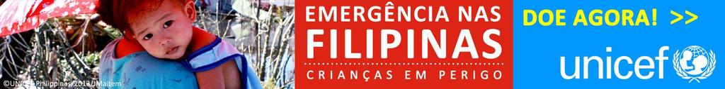Typhoon Haiyan - Donate now button 728x90 JPG - Portuguese