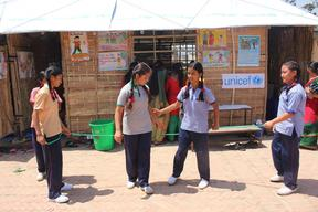 Back to school in earthquake-affected Nepal – 2015
