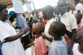 Photographs from the Early Childhood Development (ECD) Community Activation Event in Gulu District, Northern Uganda