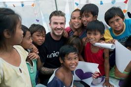 The David Beckham UNICEF Fund launch materials - Media